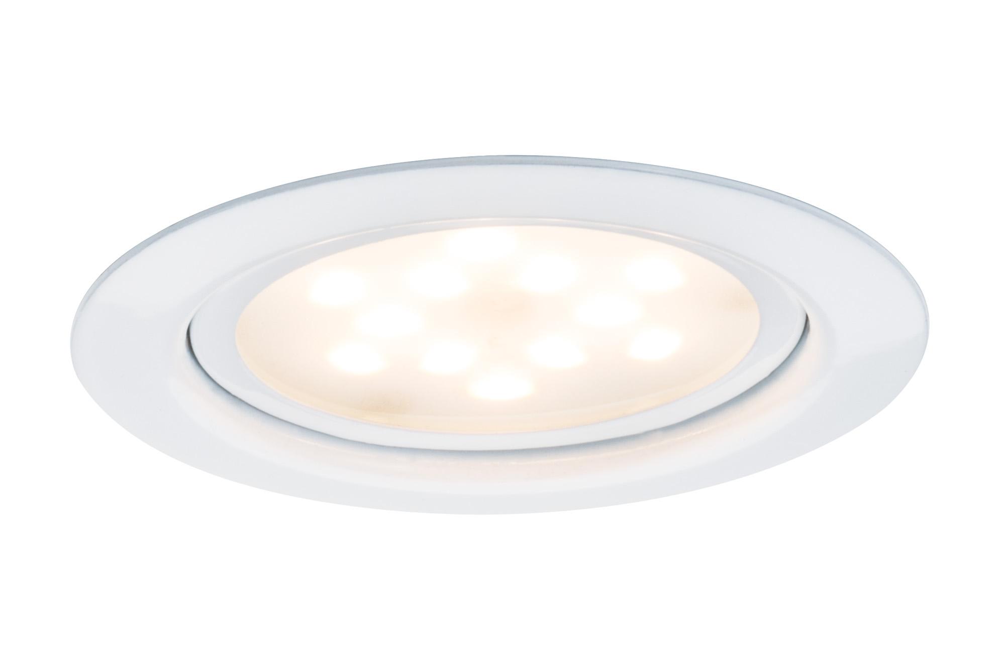 Paulmann. 93554 M?bel EBL LED 3x4W 65mm Ws