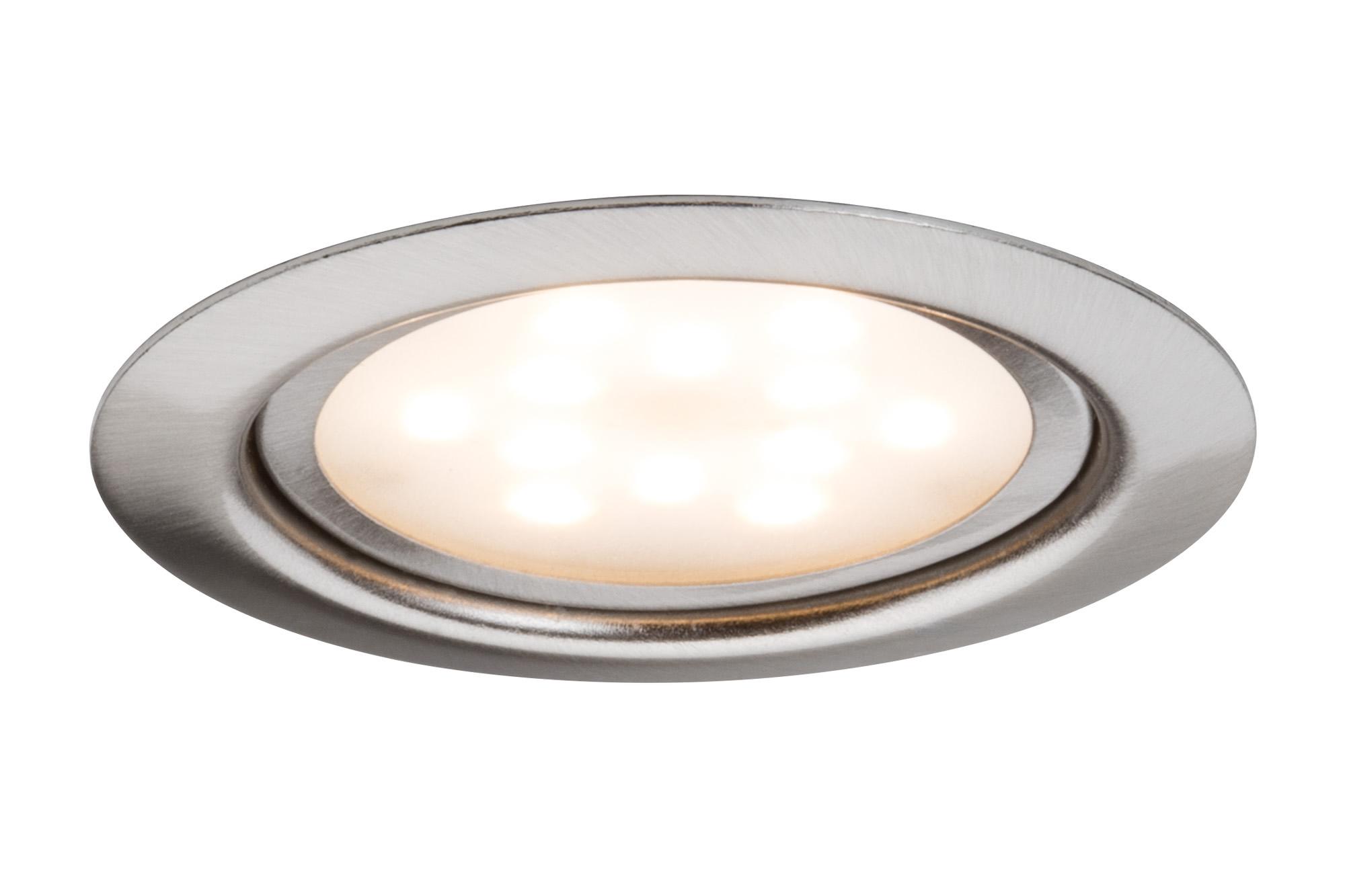 Paulmann. 93556 Светильник мебельный LED 1x4W 65mm, железо шероховатое