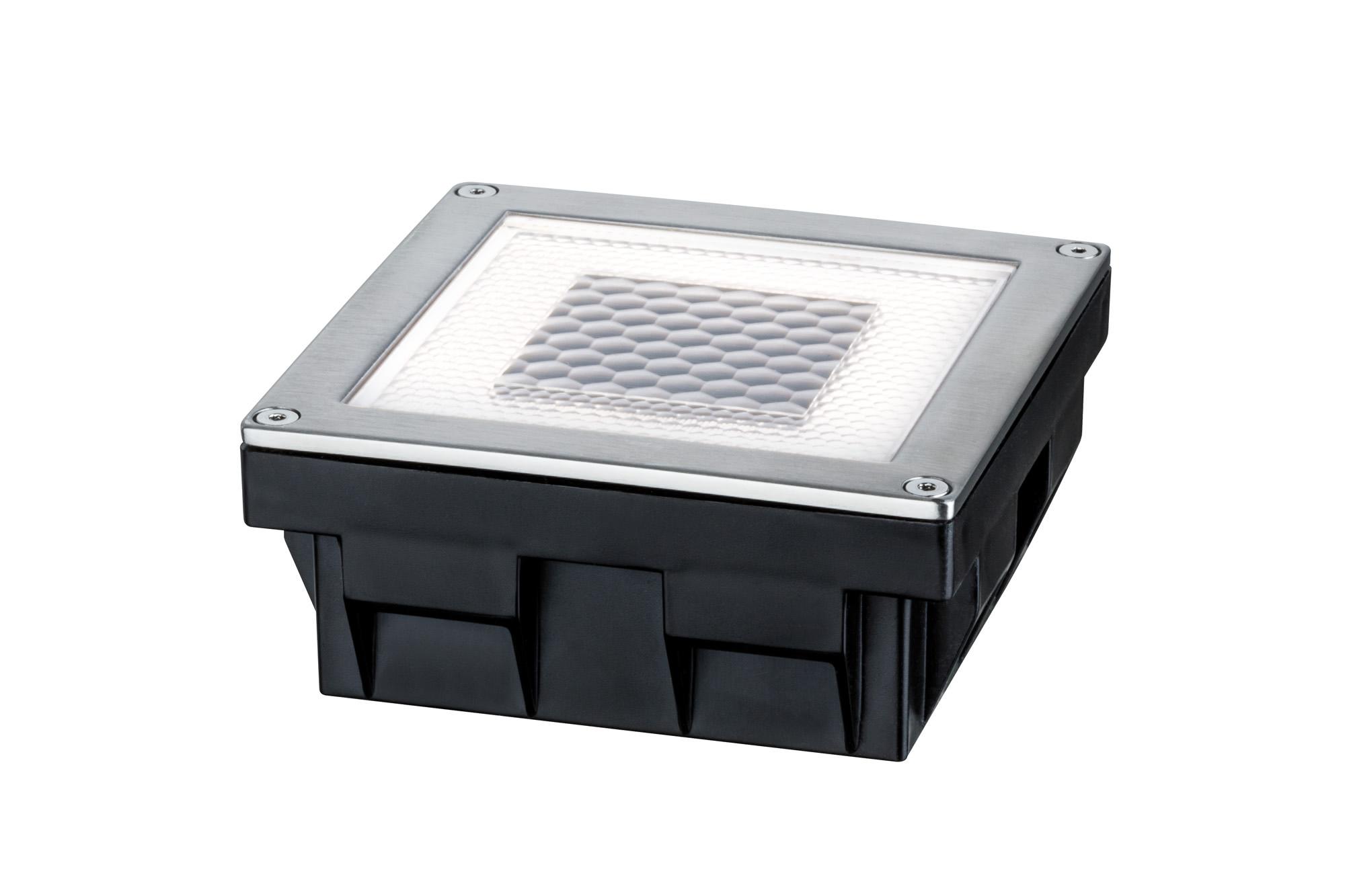 Paulmann. 93774 Светильник на солн. батареях Solar Boden Cube IP67 LED 1x0,24W