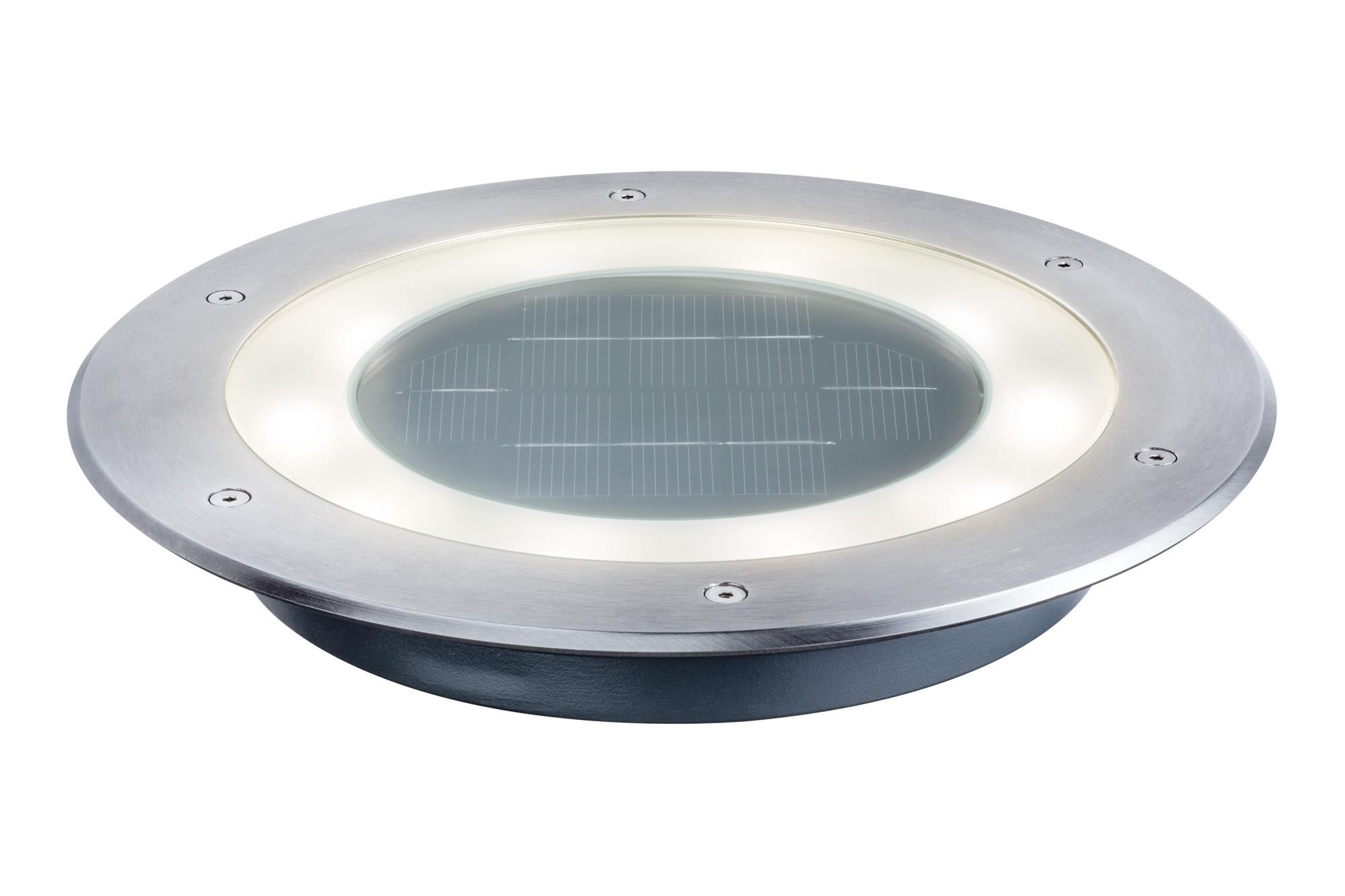 Paulmann. 93777 Светильник уличный на солн. батареях Solar Boden Jupiter IP67 1x__W