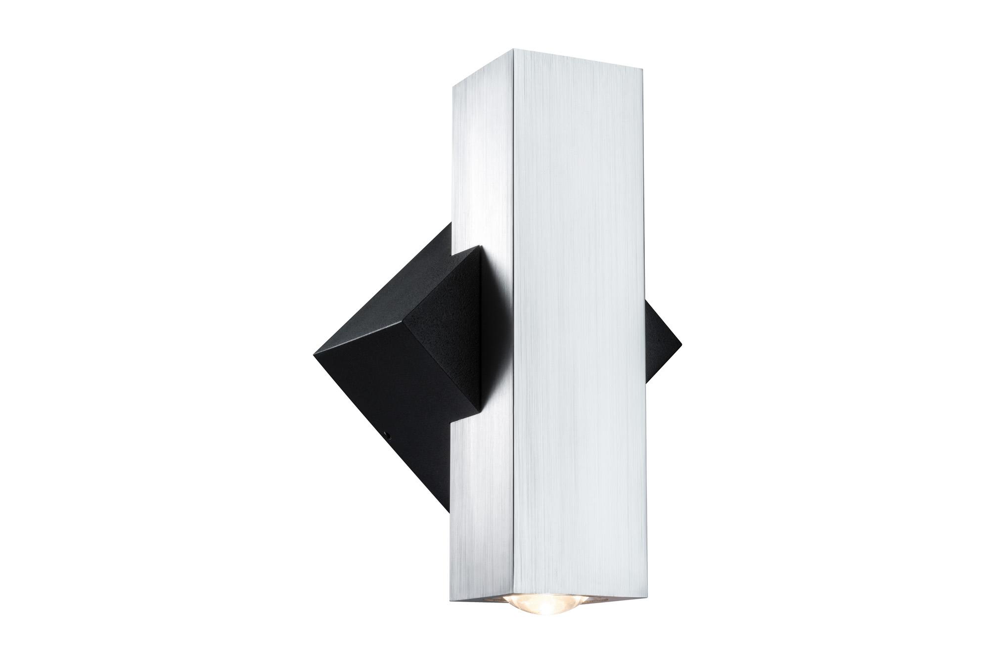 Paulmann. 93778 Светильник настенный 2Flame eckig IP44 LED 2x1W Sz
