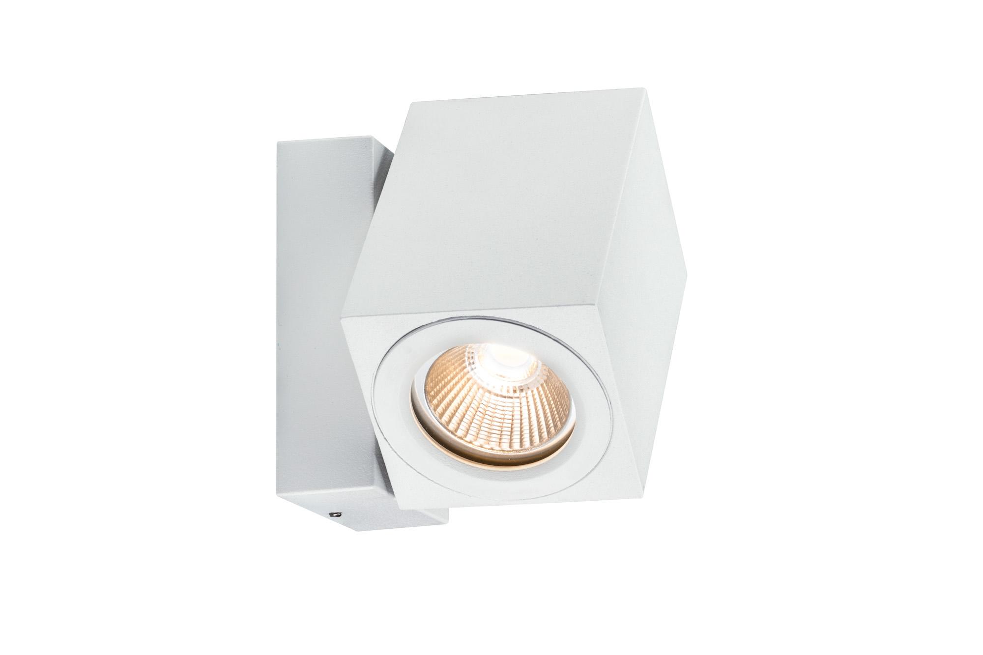 Paulmann. 93782 Светильник наст. IP44 360° Cube LED 1x7W, белый