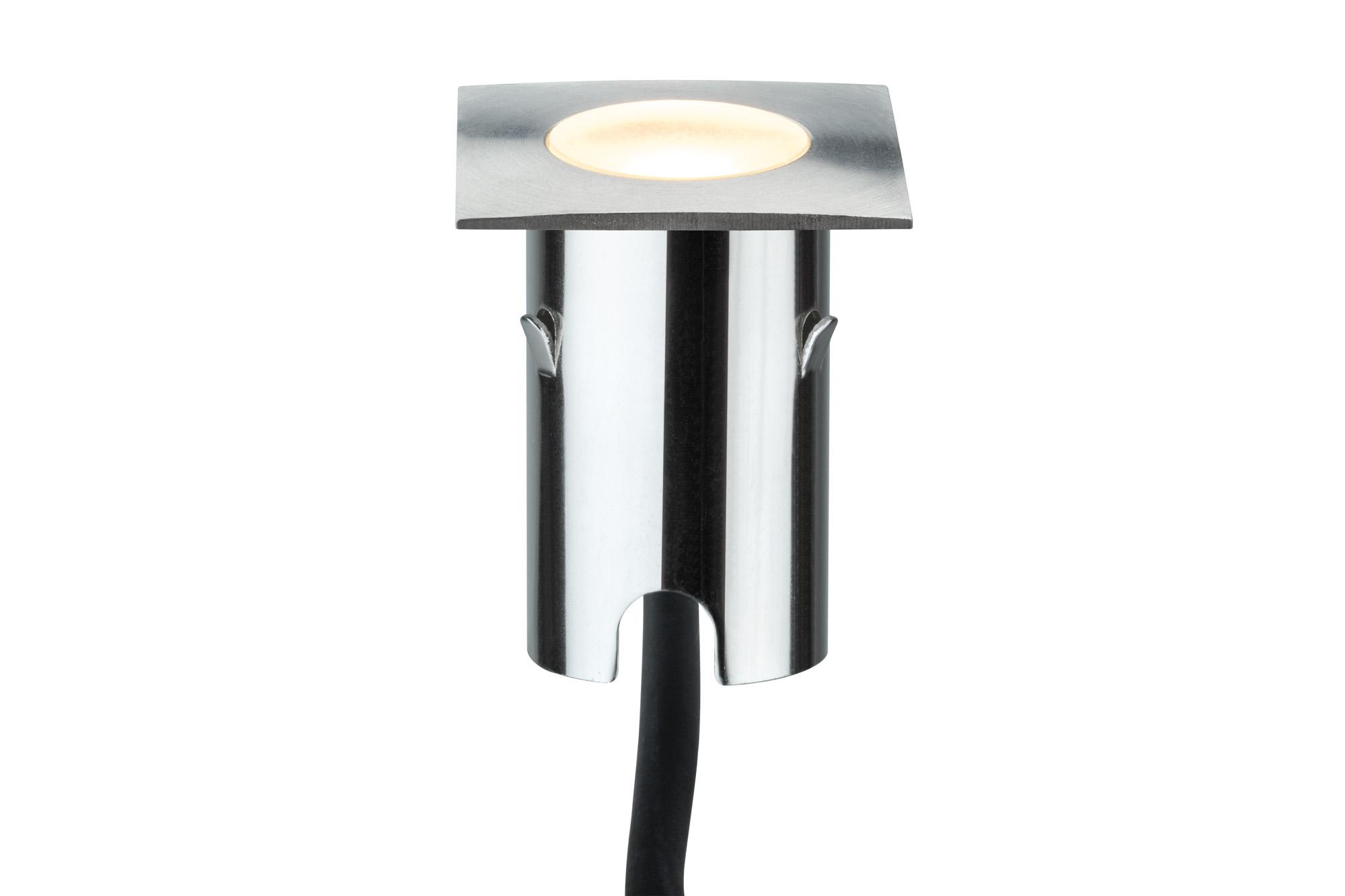 Paulmann. 93786 Набор светильников MiniBoden EBL eckig IP67 Basis 4x1W Est