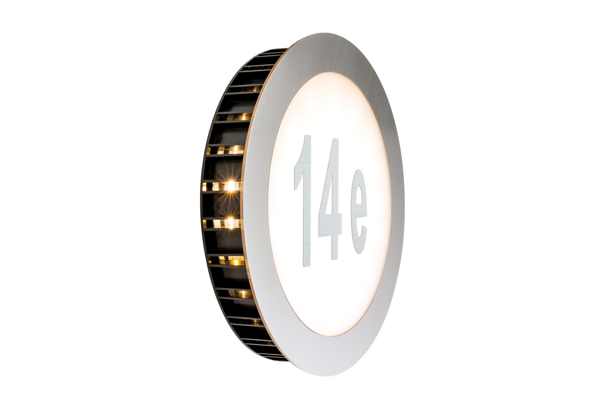 """Paulmann. 93791 Светильник """"номер дома"""", LED, 1x5.6W, 2700K"""