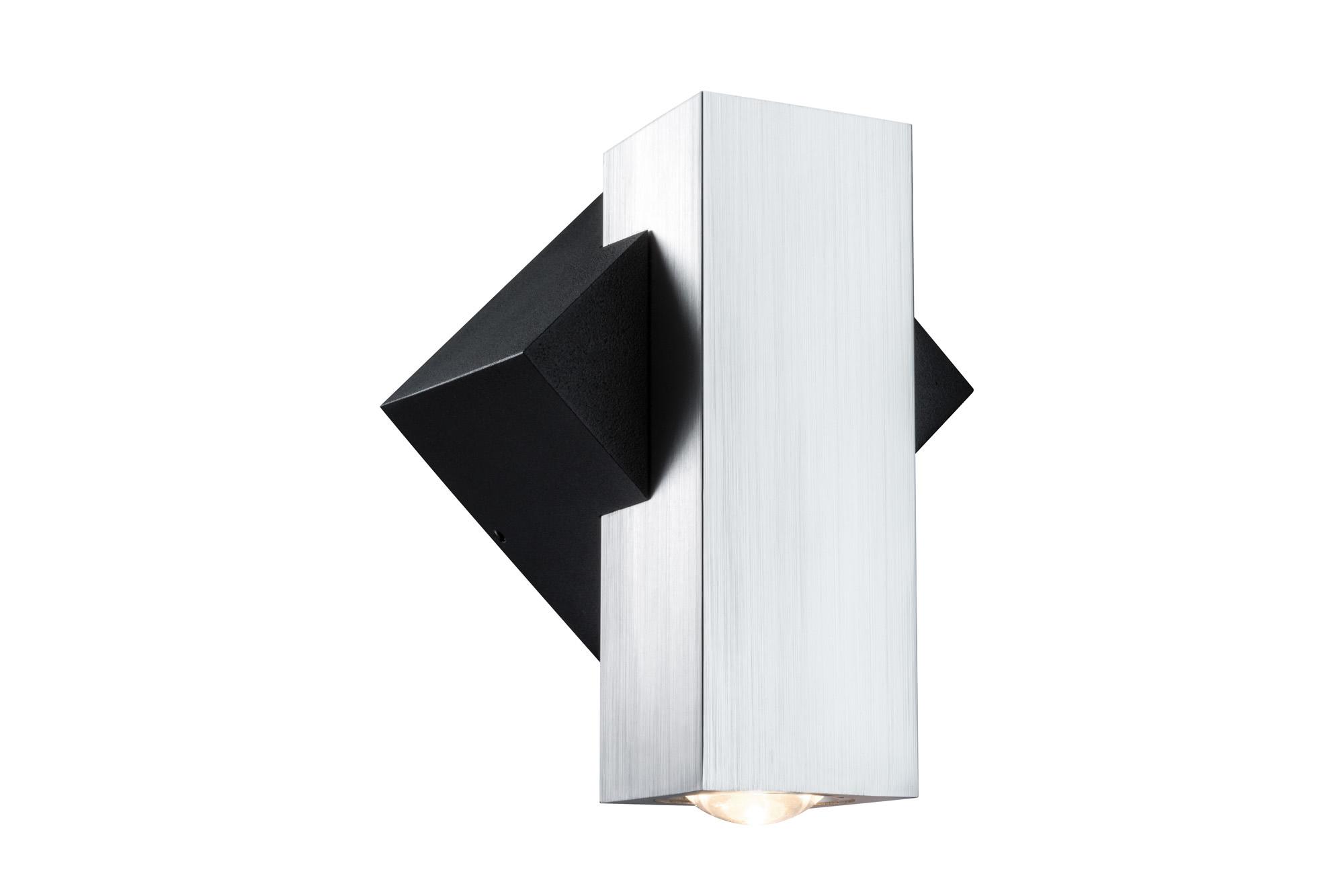 Paulmann. 93795 Светильник настенный 1Flame eckig IP44 LED 1x1W Sz