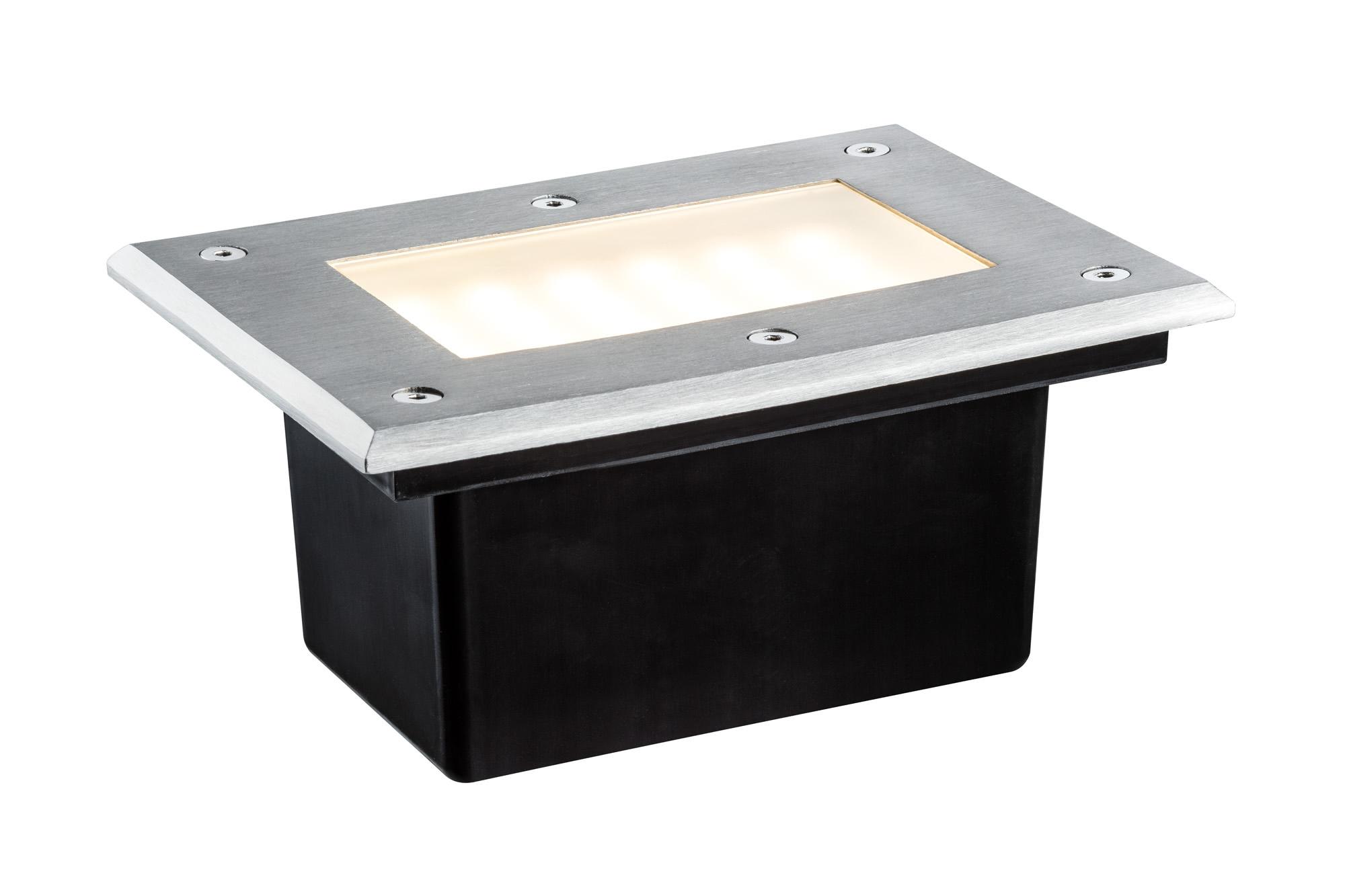 Paulmann. 93796 Spec. EBL Boden LED 3W 2700K Edelstahl