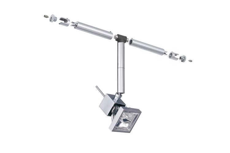 Paulmann. 94027 Cветильник для струнной системы Cumin 1x35W GU5,3 12V хром матовый