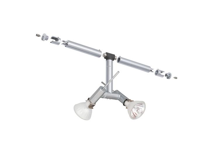 Paulmann. 94029 Cветильник для струнной системы Ginger 2x20W GU4 12V хром матовый