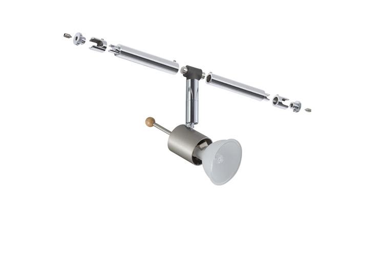 Paulmann. 94047 Cветильник для струнной системы Sheela 1x35W GU5,3 12V сатин