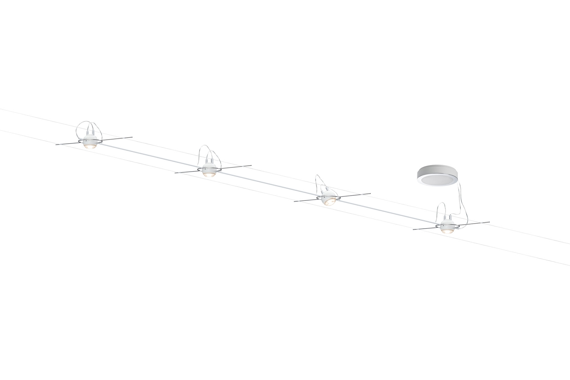 Paulmann. 94098 Комплект светильников AirLED Ball 4x5W, белый
