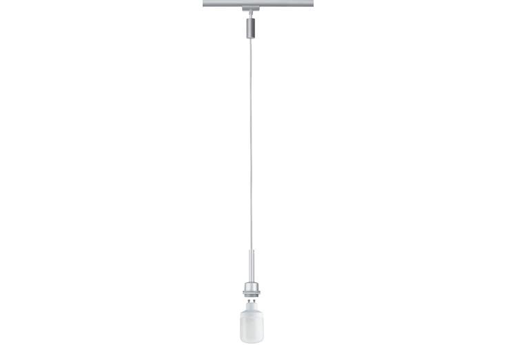 Paulmann. 95010 Светильник подвесной URail Deco ESL Pendel 1x7W GU10 chr-m