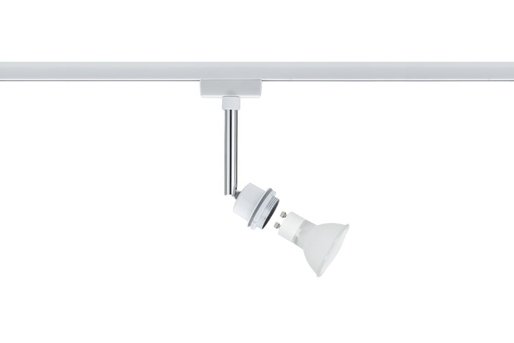 Paulmann. 95020 Светильник URail Deco Halo Spot 1x40W GZ10, белый