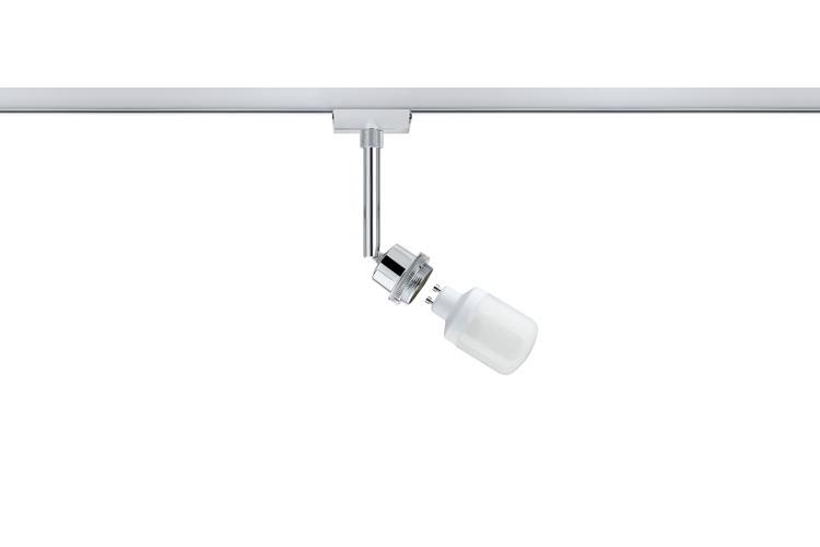 Paulmann. 95024 Светильник URail Deco ESL Spot 1x9W GU10, хром