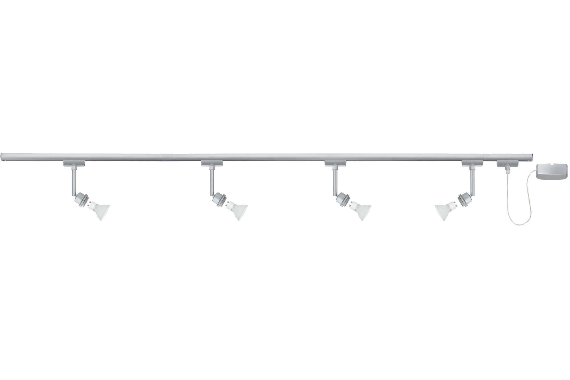 Paulmann. 95044 Набор светильников URail Basis 4x40W GZ10, хром матовый