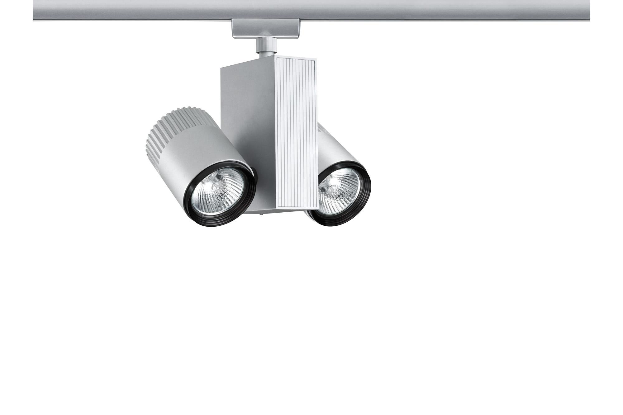 Paulmann. 95090 Светильник URail Spot Tecno 2x35W, матовый хром