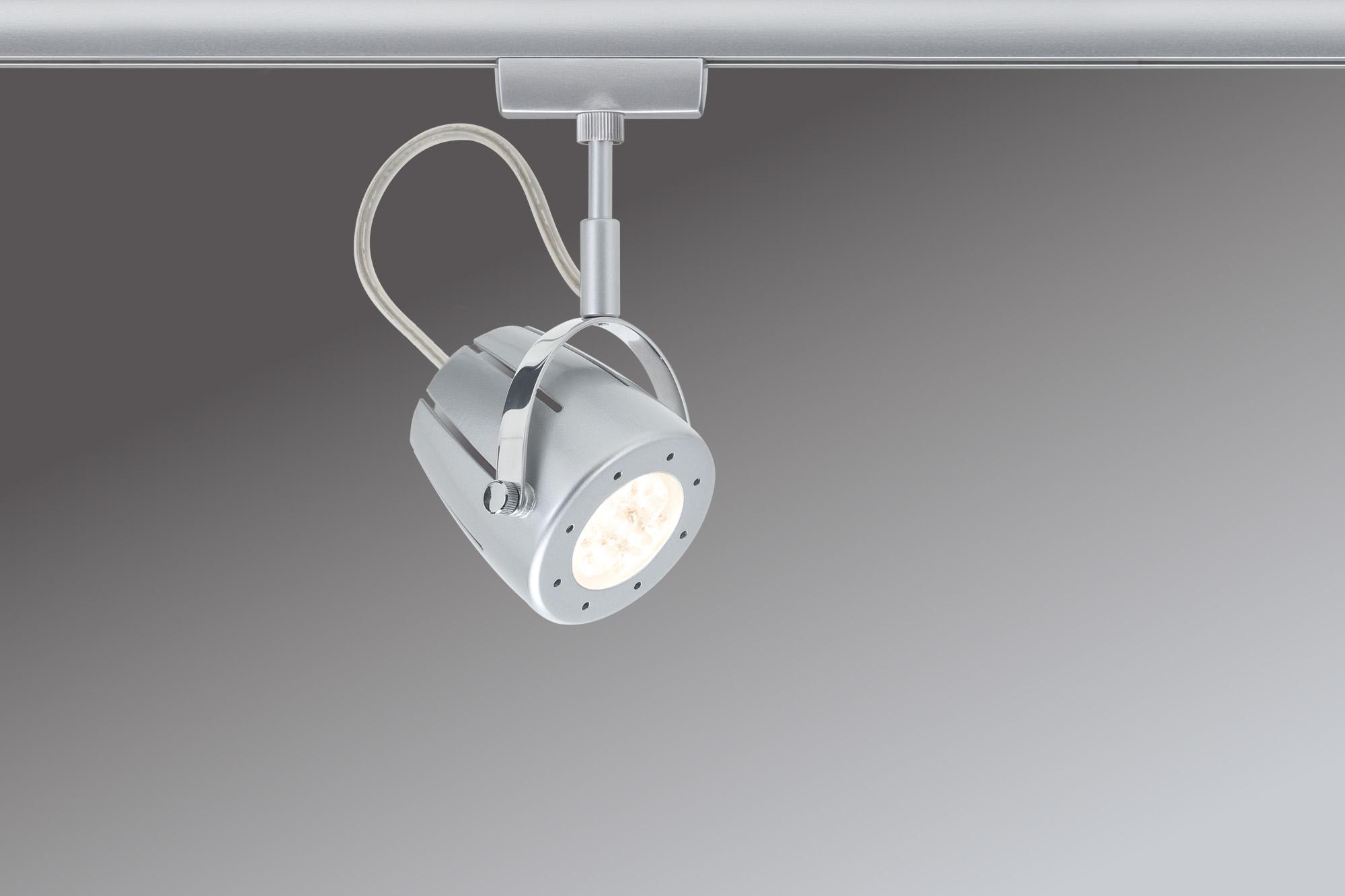 Paulmann. 95121 Св-к URail L&E Spot Mega 1x3,4W GU10 Chr-m