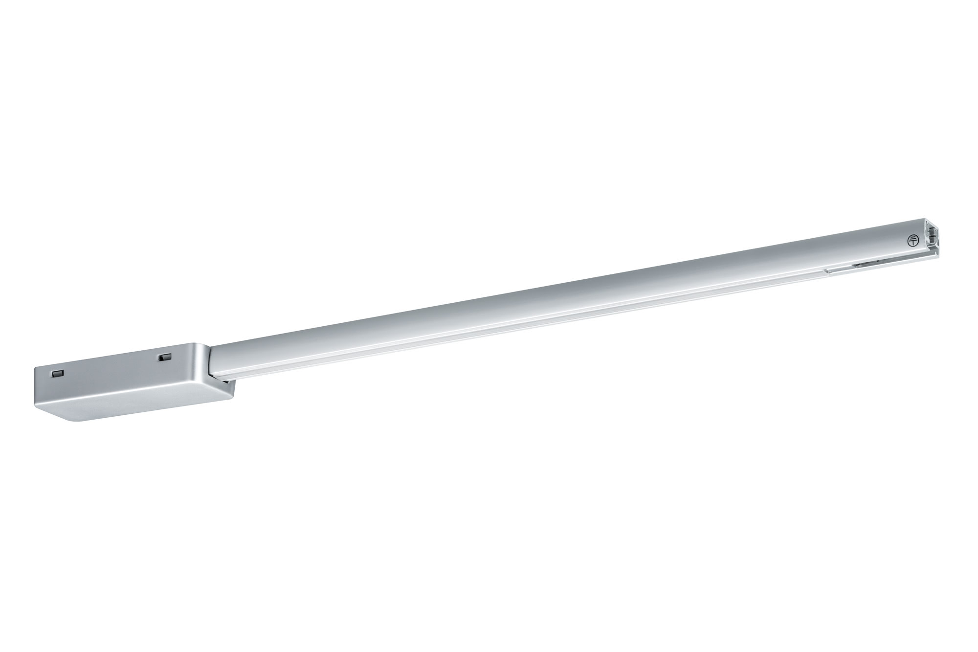 Paulmann. 95124 Подвод питания URail L+E TeleskopEinspeisung 50cm, хром матовый