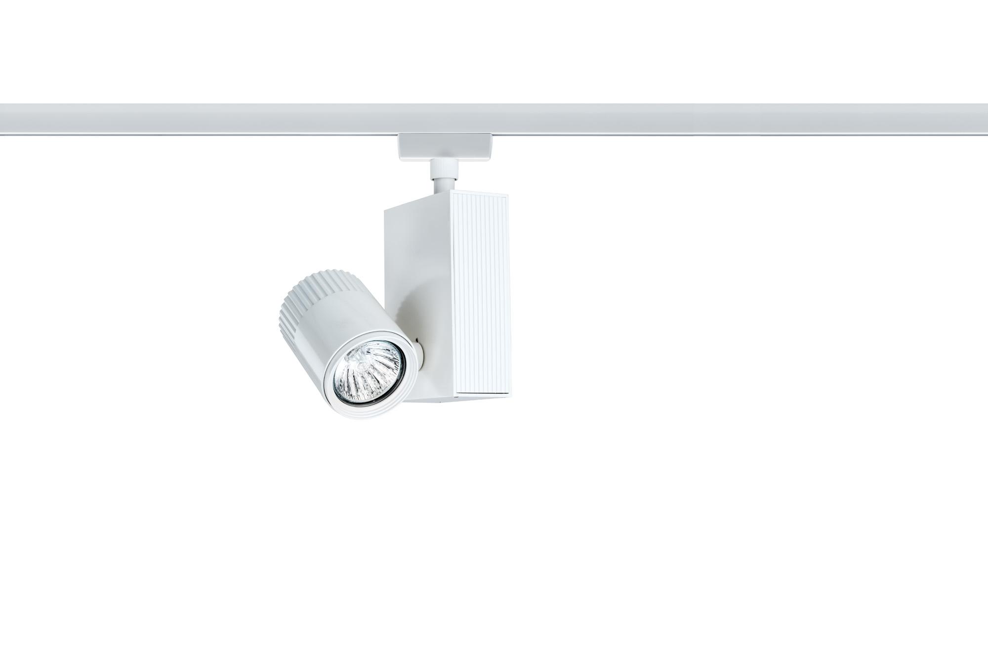 Paulmann. 95165 Светильник URail L&E Spot Tecno 1x50W GU5,3, белый