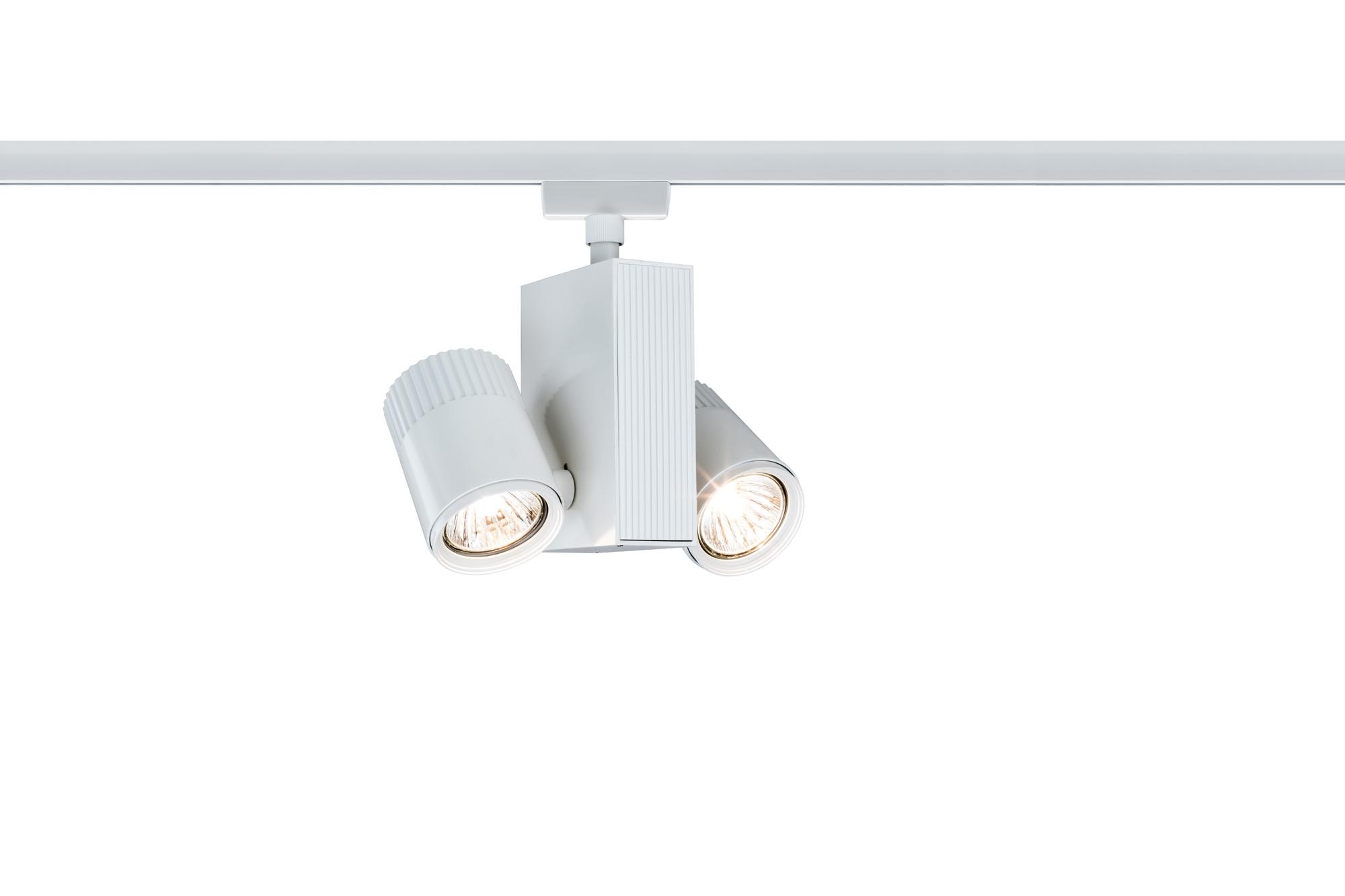 Paulmann. 95166 Светильник URail L&E Spot Tecno 2x35W GU5,3 Ws