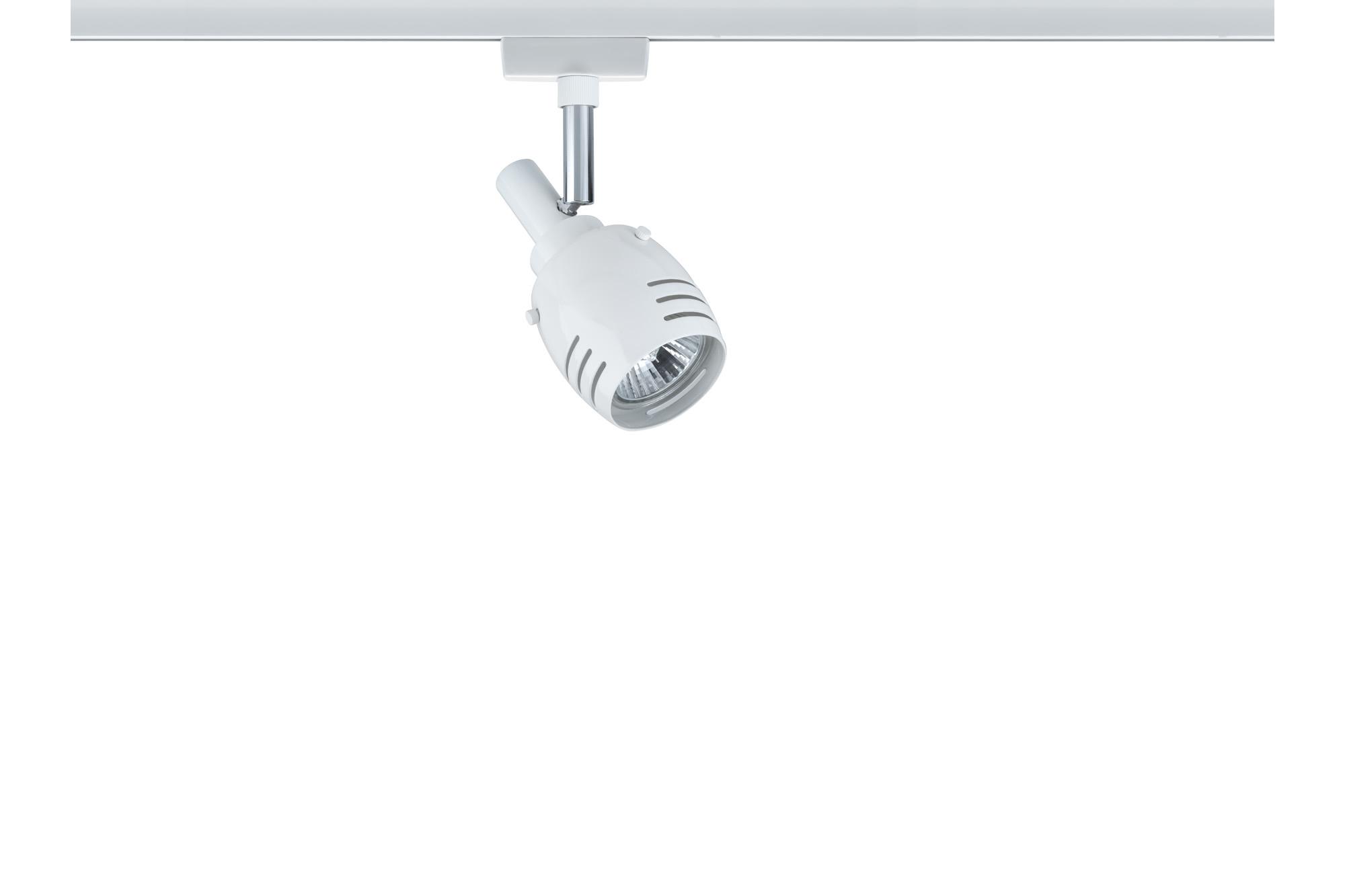 Paulmann. 95174 Светильник URail L&E Spot Rumas 1x40W GU10, белый