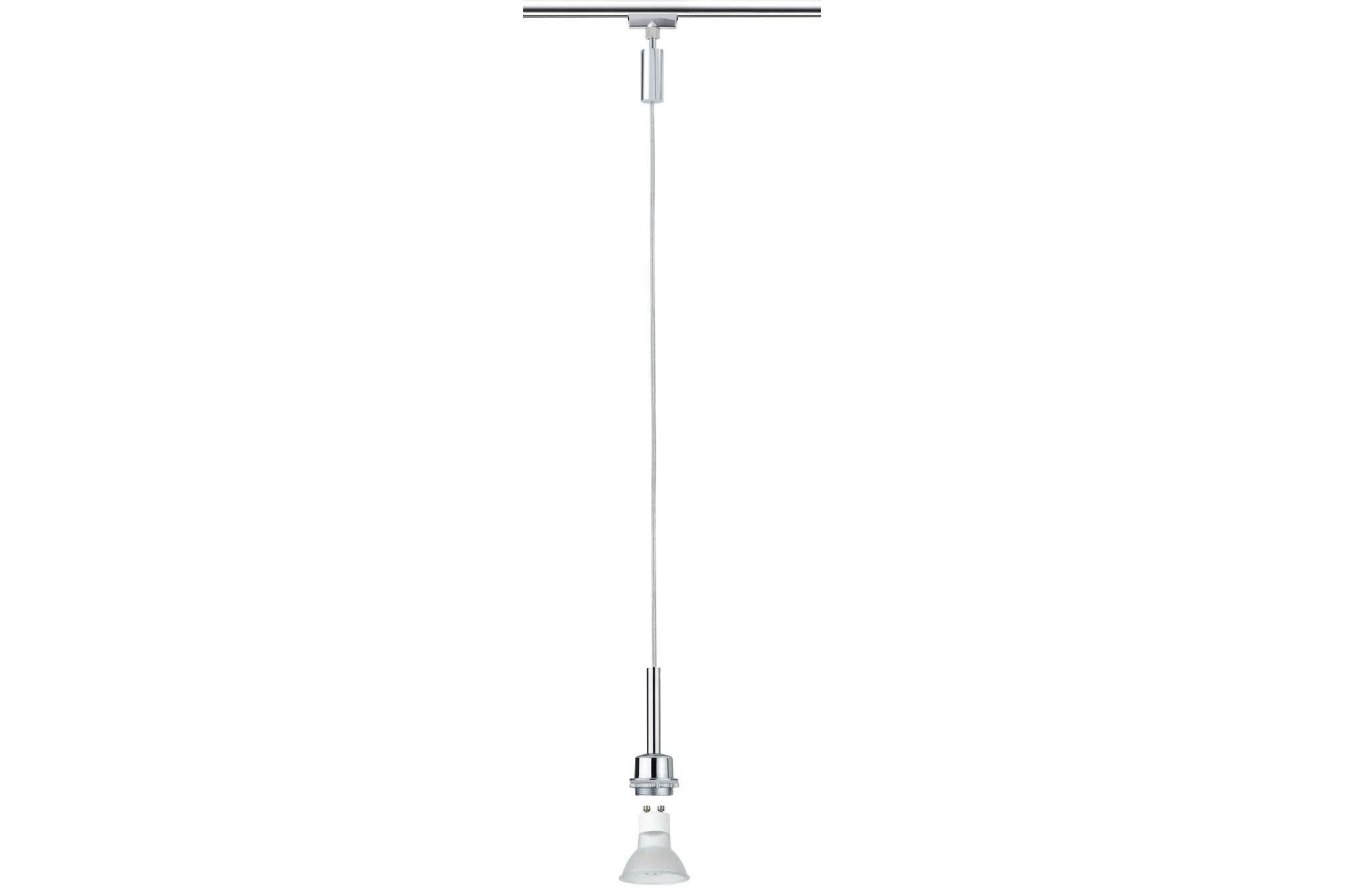 Paulmann. 95187 URail LED Pendel 1x3,5W GZ10 Chr
