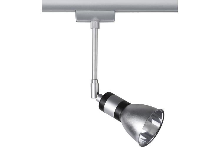 Paulmann. 96840 Cветильник для шинной системы U-RAIL 230V L&E Amfortas 1x40W G9 230V титан/алюминий