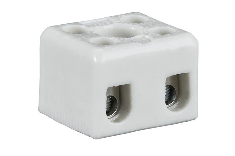 Paulmann. 977759 Клеммник керамический, белый (3 шт.)