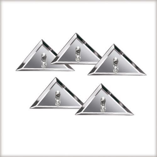 Paulmann. 98590 Star EBL Set 5x10W G4 Spiegel Silber